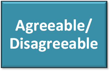 Agreeable / Disagreeable